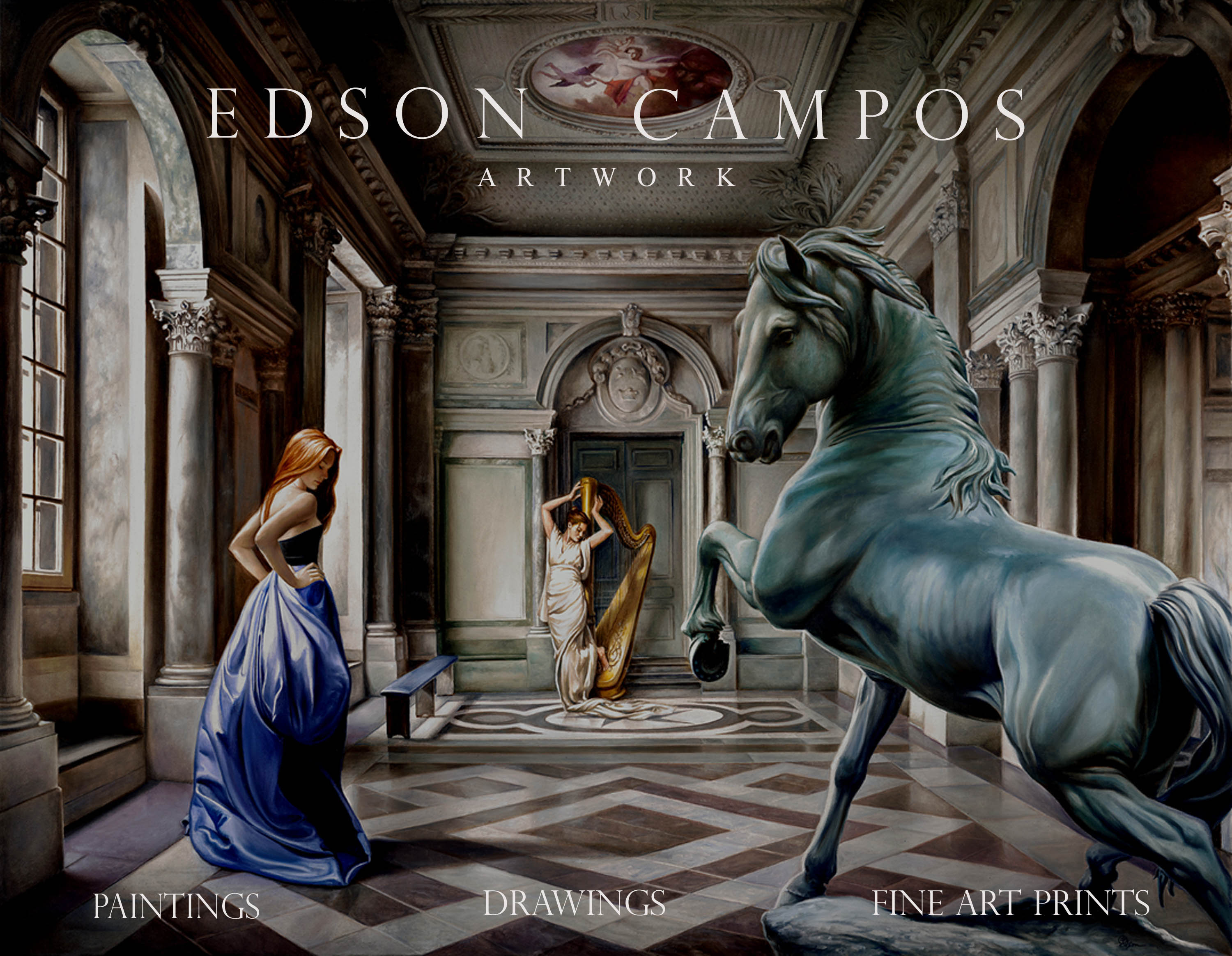 Edson Campos artist welcome to the official website