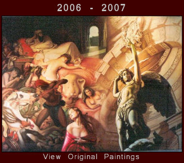 Original Oil Paintings 2006-2007